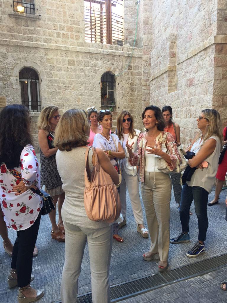 International patrons research trip to Jerusalem